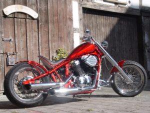 Das Motorrad Iron Spider